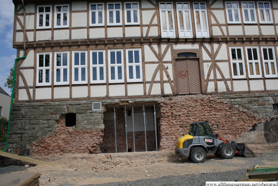 The Mountain Lodge Building Site - Monday, 21st April, 2014
