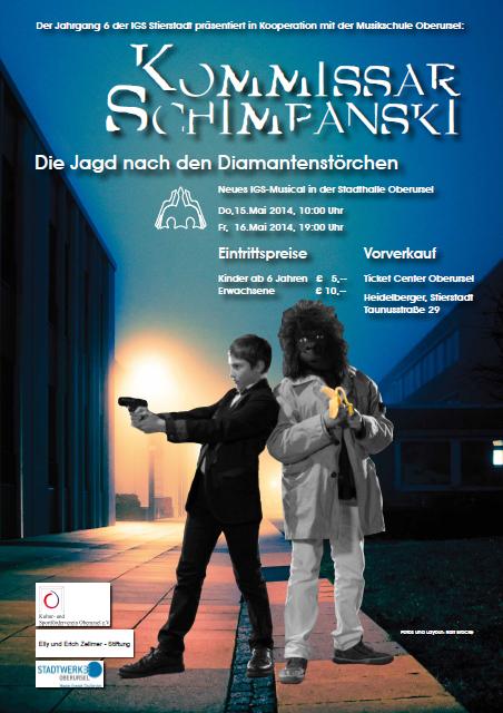 IGS Stierstadt musical flyer - Fotos und Layout: Ralf Brocke