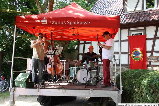 The Bandstand feat. Valentin Garvie at the Schuckardsmühle