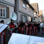 Frohsinn's Brass Band in the Eppsteiner Strasse