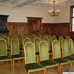 The Ratsherrensaal inside Oberursel's historic town hall