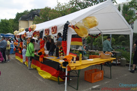 The German stand at the FIS Wordfest in 2015
