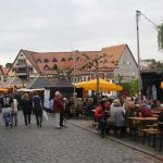 The market square in Oberursel during Brunnenfest on Friday, 20th May, 2016