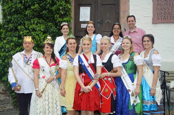 Visiting Royalty at the Brunnenfest 2016