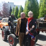Ann-Kathrin I. and Rainer arriving at Hof Kofler on Saturday, 6th May, 2017