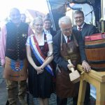 The beer is tapped by Mayor Hans-Georg Brum on Friday, 9th June, 2017