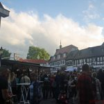 The Marktplatz in the evening on Friday, 9th June, 2017