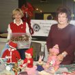 Visitors from Lomonossow at the Christmas Market