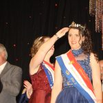 Pia I. being crowned