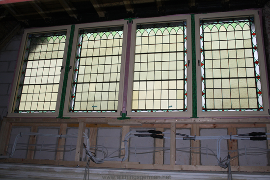 Oberursel Station - Stained Glass Windows