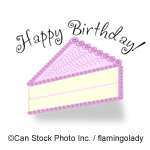 Happy Birthday - ©Can Stock Photo Inc. / flamingolady