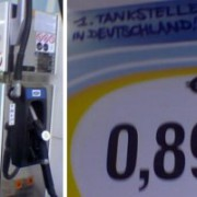 Filling up with bio-ethanol for the first time