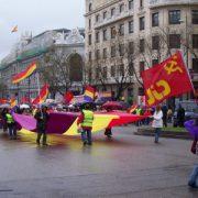 Demonstrations in Madrid
