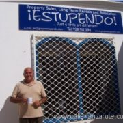 Mike Cliffe-Jones on Lanzarote