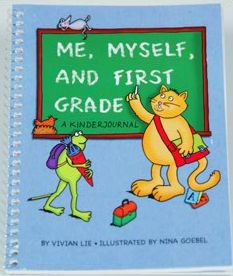 """""""Me, Myself and First Grade"""" Cover (Courtesy of www.kindercone.com)"""