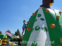 Climbing Bouncy Castle at the Hüpfburgenstadt