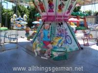 Merry-Go-Round at the Hüpfburgenstadt