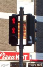 Pedestrian traffic lights in Cologne