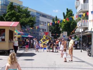 Activities for children in the Holzweg