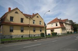 The railway housing in the Zimmersmühlenweg