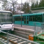 Longer trains in Oberursel