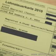 New in 2012: the end of the Lohnsteuerkarte (maybe)