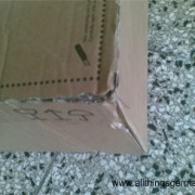 What to do with a damaged parcel