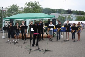 The FIS Jazz Band