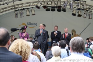 Volker Bouffier opens the 51st Hessentag in Oberursel