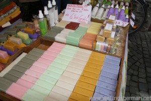 Soap from Bonjour Provence! at the Hessentag in Oberursel