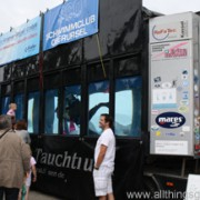 Try out diving at the Hessentag… in a lorry