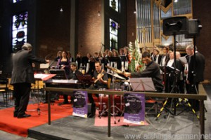The concert in the Liebfrauenkirche during the Hessentag in Oberursel