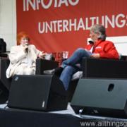 Jutta W. Thomasius at the Hessentag