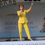 Chris Malu sang the Hessentag song