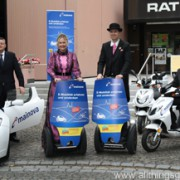 Zero-Emissions at the Hessentag with Segways