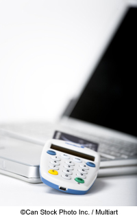 Laptop with card reader - ©Can Stock Photo Inc. / Multiart