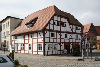 The Benedix-Haus and Tourist Information Centre in Bergen auf Rügen
