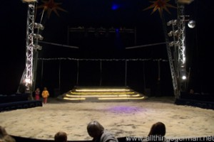 The circus ring - the Manege