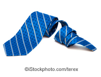 A blue tie - ©iStockphoto.com/terex