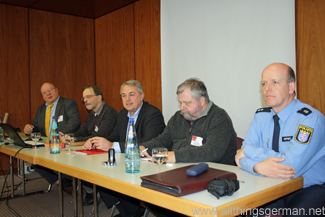 Cycling to school debate - Walter Breinl, Jan Prediger, Arnold Richter, Tilman Kluge, Bernd Meffert