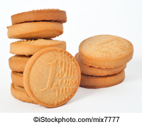 Cookies shaped like Euro coins - ©iStockphoto.com/mix7777