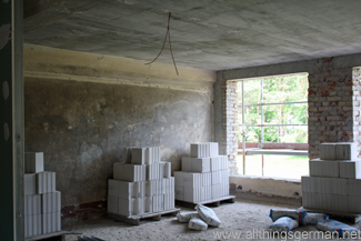 Inside one part of the building during re-development