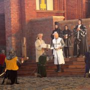 Knights investiture at the Marienburg