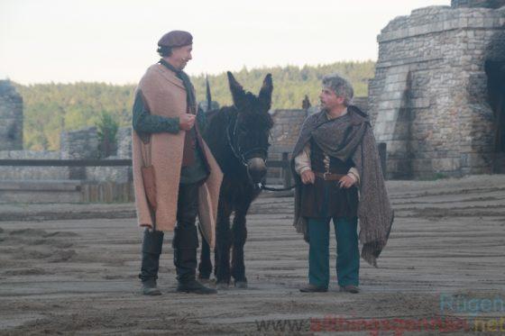 Siggi (Charles Lemming) with Der Kleene (Volker Zack)