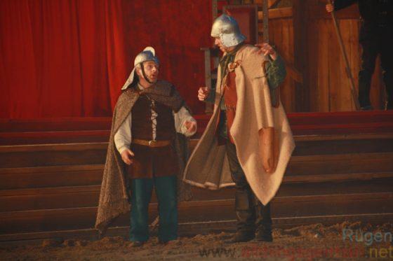 Der Kleene (Volker Zack) and Siggi (Charles Lemming)