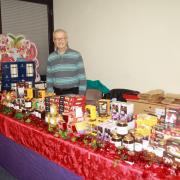 British goods at the Christmas Market