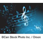 Blue musical notes - ©Can Stock Photo Inc. / Orson