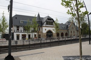 Oberursel Station in May 2012
