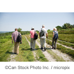 Group of Senior Citizens walking - ©Can Stock Photo Inc. / micropix