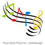 Musical notes - ©Can Stock Photo Inc. / snehitdesign